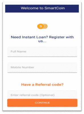 Smart Coin App Loan Apply In Hindi